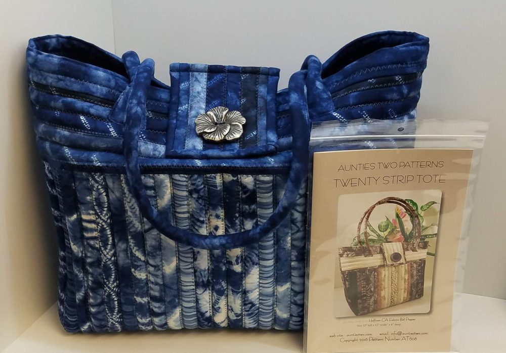 #535 Twenty Strip Tote with Kelly