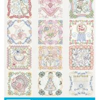 AG Holiday Tea Towels back