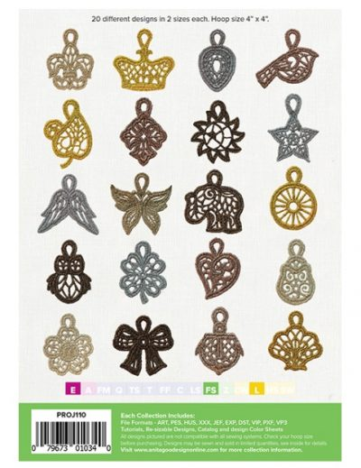 AG Lace Charms back